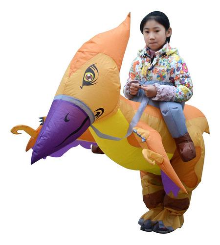 Inflável Dinossauro Fantasia Crianças Blow Up Vestido Fantas
