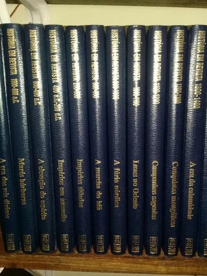 Coleção História Em Revista Abril Time Life