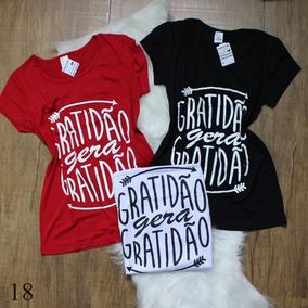 Kit Blusas Femininas T Shirt Atacado Revenda 10 Pç Barato 99