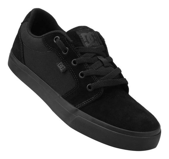 Tênis Dc Shoes Anvil La Feminino Preto Promoção Nº 34