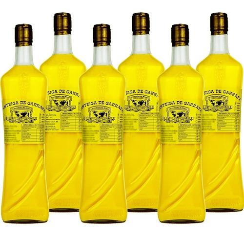 Imagem 1 de 5 de Kit 6 Unid Manteiga De Garrafa 1 Litro - Menor Preço Do Site