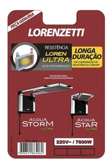 Resistência Para Chuveiro 7800w 220v Acqua Storm/acqua Star