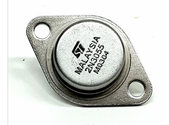 Transistor 2n3055 St Malaysia Kit 3 Pçs