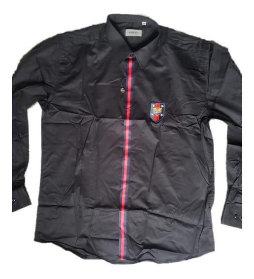 Camisas De Importacion Gucci Bordadas