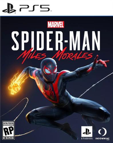 Imagen 1 de 2 de Marvels Spider-man Miles Morales - Ps5 - Playstation 5   Vgm