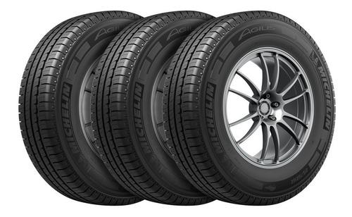 Kit X 4 Neumáticos Michelin Agilis + Cubiertas 195/65 R16c