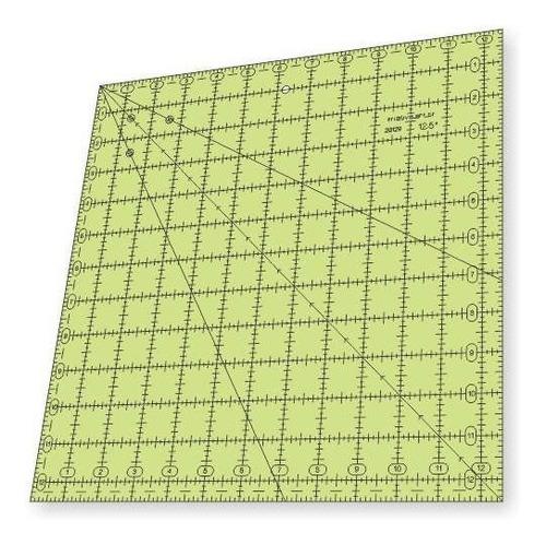 Imagem 1 de 4 de Régua Para Patchwork - Quadrado 12,5 Polegadas - 26129