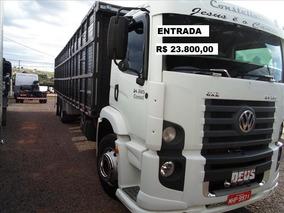 Caminhão Boiadeiro Vw 24250 Ano 2012