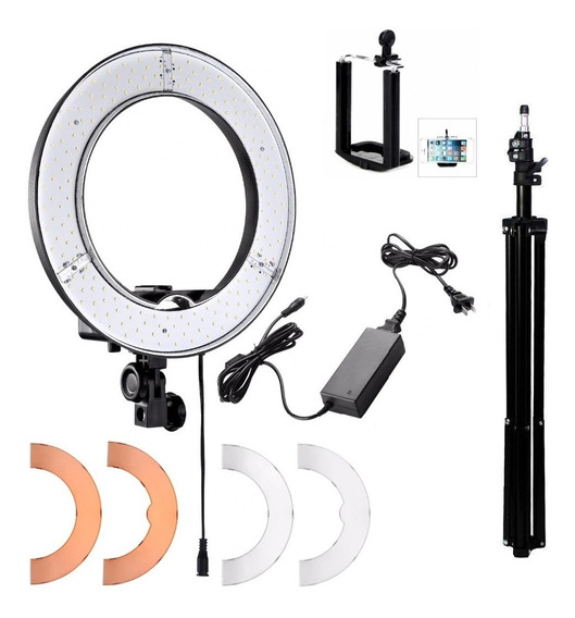 Iluminador Led Ring Light Rl12 Completo