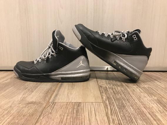 Air Jordan Retro Flight Origin Black Silver