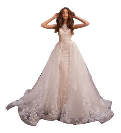 Vestido De Novia Dos En Uno Elegante Boda Desmontable