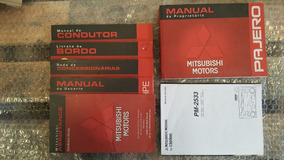 Manual Proprietario Mitsubishi Pajero Full 3portas 3.8 03/07