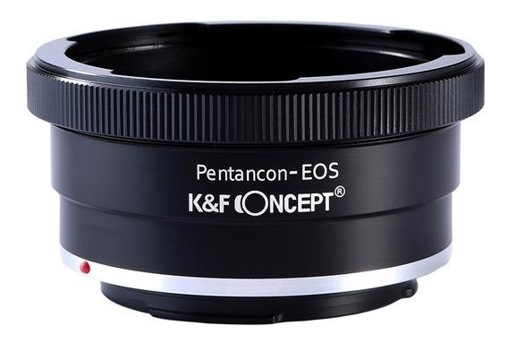 Adaptador Pentacon P6 Para Canon Eos Ef