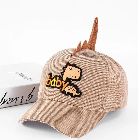 Gorra De Moda Niño Infantil, Gorra Tipo Béisbol, Dinosaurios