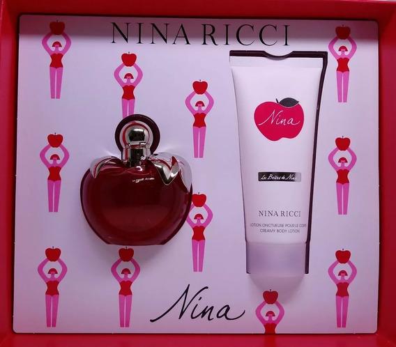Kit Perfume Nina Ricci Edp 50ml + Loção Corporal 100ml