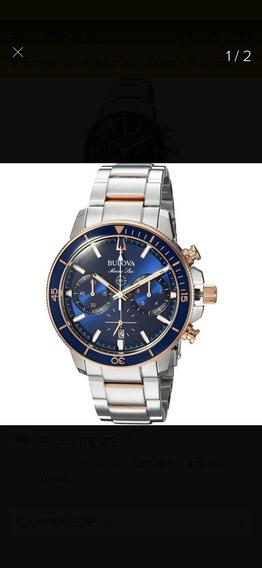 Relógio Bulova Marine Star Blue 98b301