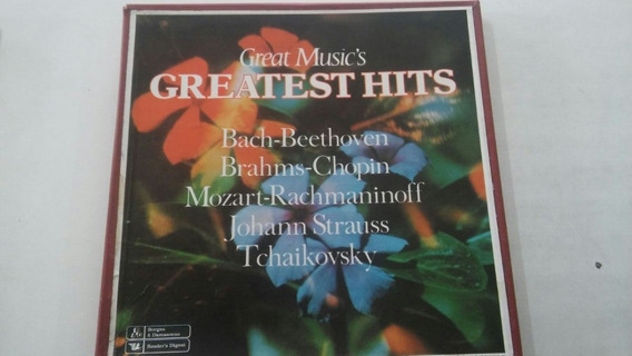 Box 8 Lps Gret Music`s Greates Hits