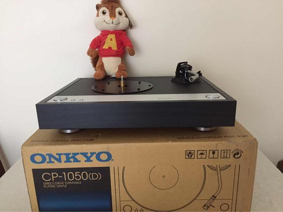 Toca Disco Vinil Lp Onkyo Cp-1050