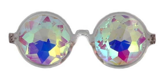Amazon Prime Deals Festivales Caleidoscopio Gafas Rainbow P