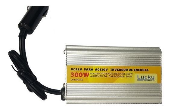 Inversor Transformador Conversor 300w Veicular 12v 110v Usb