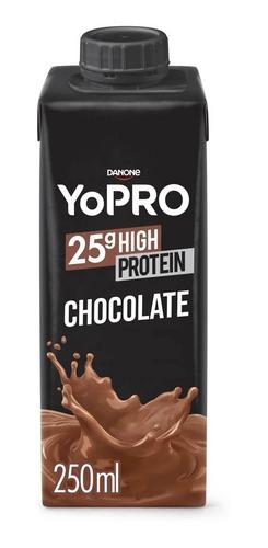 Bebida Lactea Com 25g De Proteína Yopro Chocolate 250ml