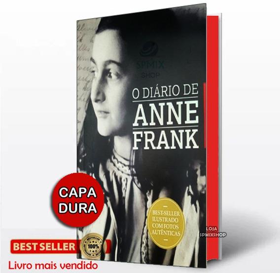 O Diario De Anne Frank Livro Edição De Luxo - Capa Dura
