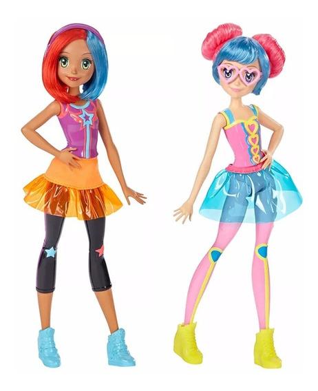Dtw04 - Barbie Amigas De Video Game - Kit C/ 2 - Mattel
