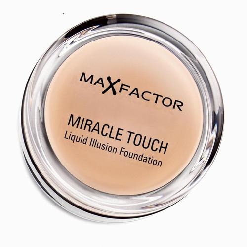 Imagen 1 de 2 de Max Factor Miracle Touch Foundation Tono 40 Creamy Ivory