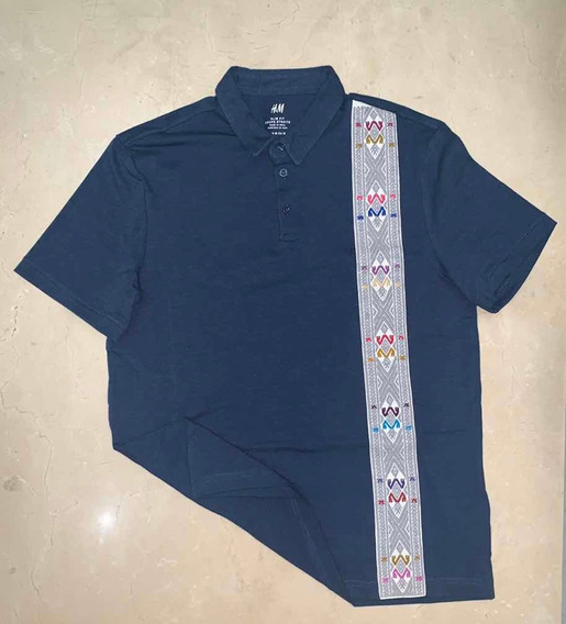 Playera Polo Artesanal