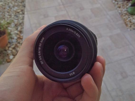Lente Sony 18-55mm Sam A-mount F3.5-5.6