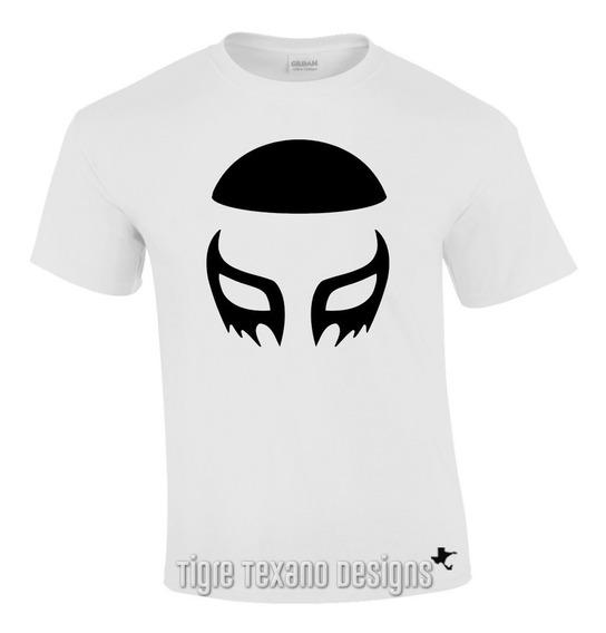 Playera Lucha Libre Cien Caras By Tigre Texano Designs