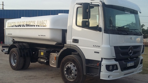 Tanque Cisterna Sobre Camión Prfv