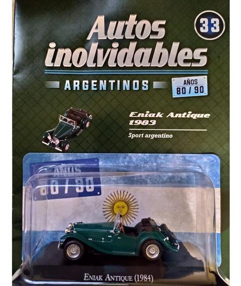 Autos Inolvidables Años 80/90 N° 33 Eniak Antique (1983)