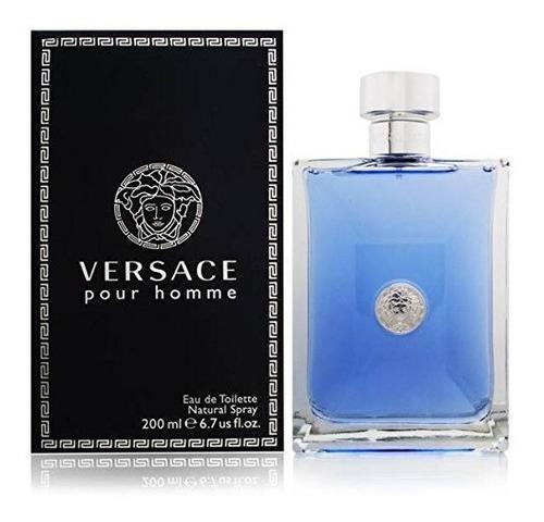 Perfume Locion Versace Pour Homme 200-ml - L a $980