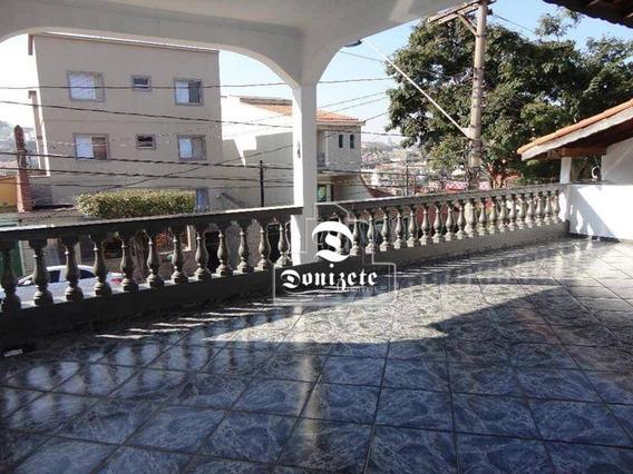 Sobrado Com 2 Dormitórios Para Alugar, 200 M² Por R$ 2.500,00/mês - Nova Gerti - São Caetano Do Sul/sp - So3221
