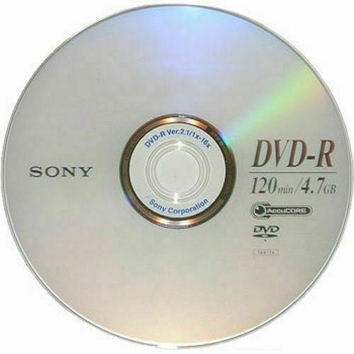 Dvd Virgen Sony De 4.7 Gb Bulk X 50 - Envio X Mercadoenvios