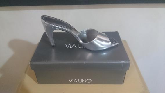 Sapato Feminino Via Uno Na Caixa