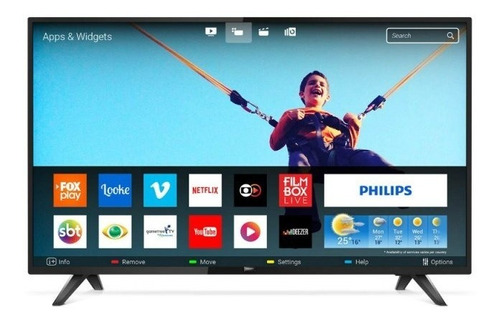 Smart Tv Philips 43  Led Full Hd 43pfg5813/78 Ultra Slim Wi