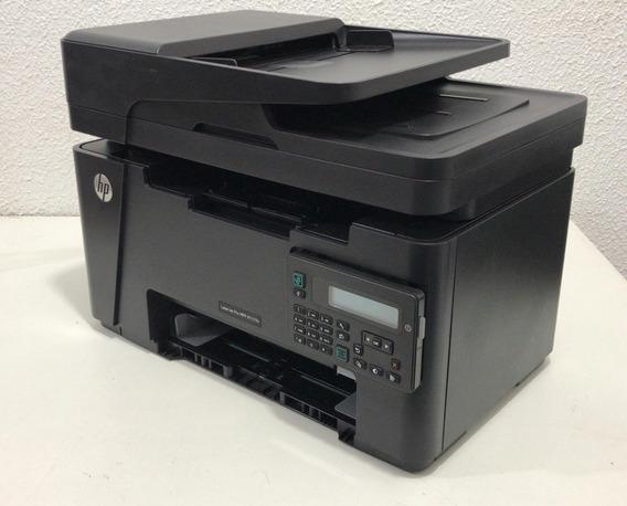Impressora Hp Laserjet Pro Mfp M127fn Revisada *descrição*