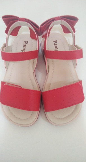 Sandália Pampili Vermelha
