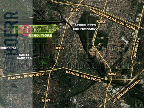 2 Has En El Parque Ind Tigre - Salida A Dos Calles.