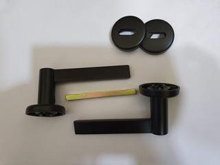 Manija Aqua Doble Balancín Bronce Sidañez - Color Negro