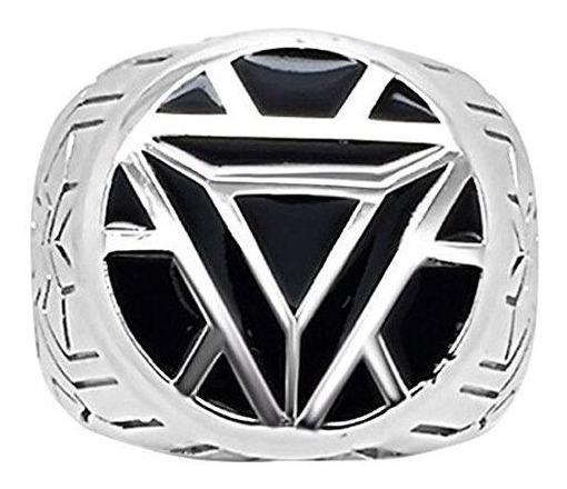 Anillos Para Hombre Womenøs Iron Man Armor Ring - 5 - Black