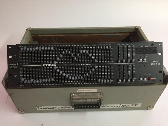 Equalizador De Áudio Ciclotron Techvox Tge 2313 #711005