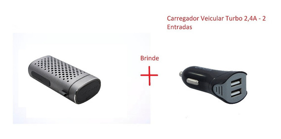 Caixa Som Bluetooth 3w + Powerbank Alumínio 2 Em 1 + Brinde