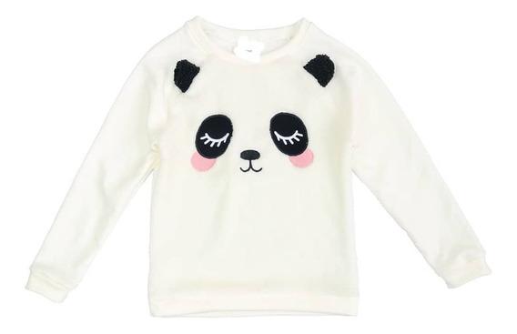 Buzos Nena, Nene Oso Panda, Pecho De Piel. Excelente Calidad