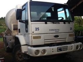 Ford Cargo 2425 Betoneira De Concreto Usada Traçado 2002