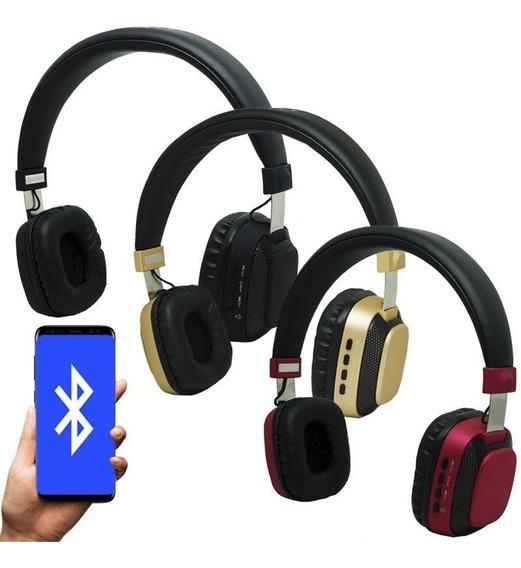Fone Iluminado Headphone Sem Fio Led Bass Estéreo Bluetooth