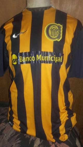 Camiseta Rosario Central Publicidad Banco Municipal