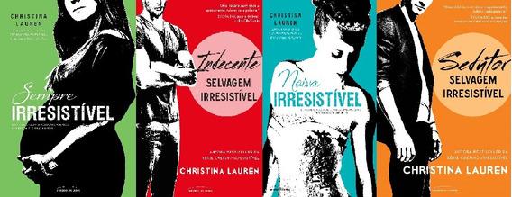 Cretino Irresistível - 4 Livros - (noiva, Sempre, Selvagem)
